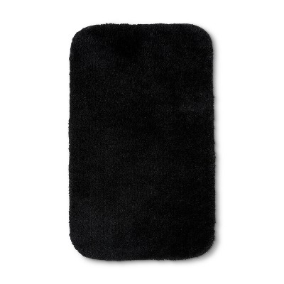 32 x20  Solid Bath Rug Black - Room Essentials™