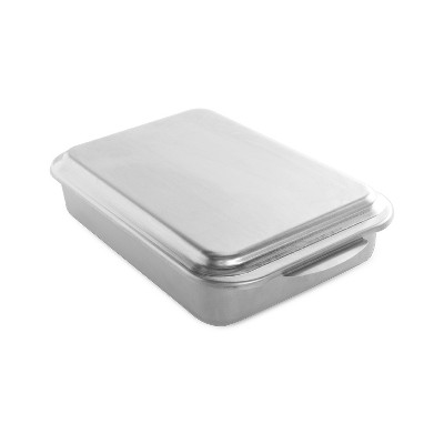Nordic Ware Natural Aluminum Commercial Classic Metal Covered Cake Pan