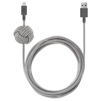 Native Union Night 10' Braided Lightning to USB-A Cable