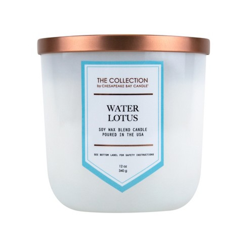 12oz Glass Jar 2-Wick Candle Water Lotus - The Collection By Chesapeake Bay Candle - image 1 of 2