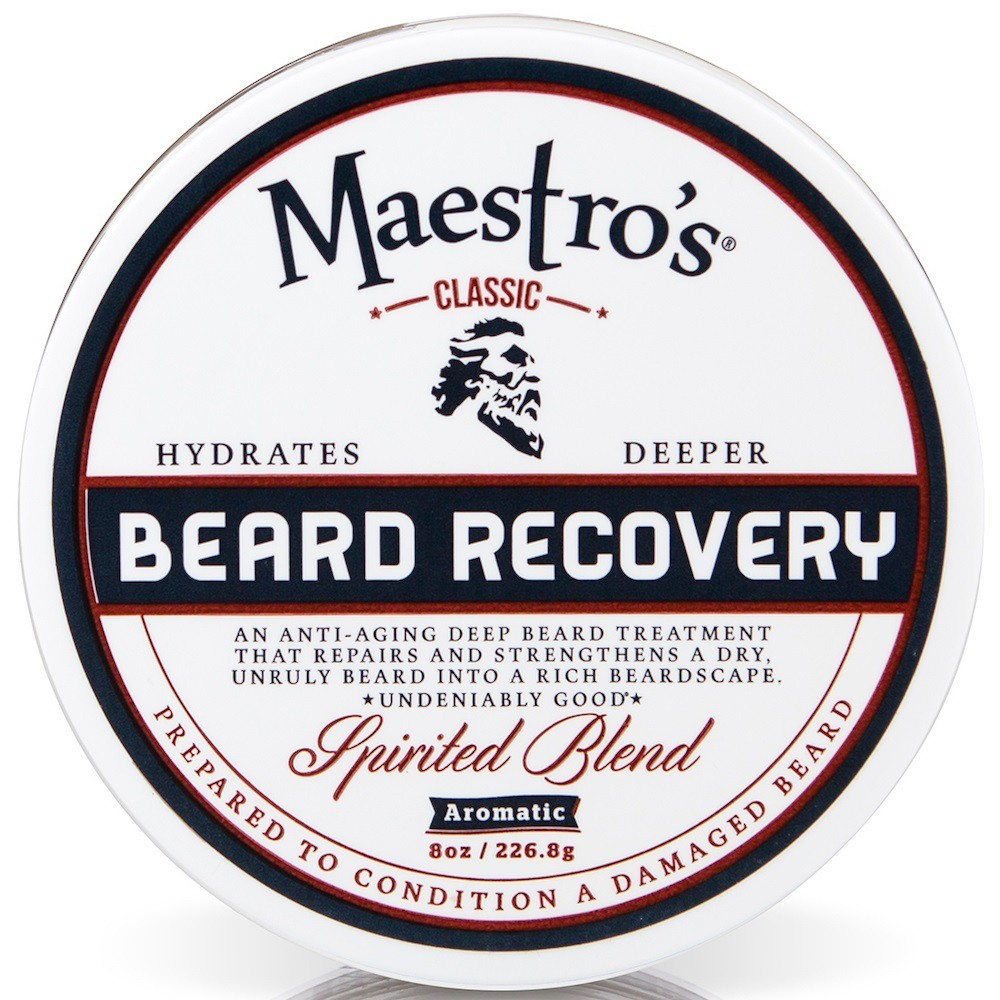 Image of Maestro's Classic Spirited Blend Beard Recovery - 8oz