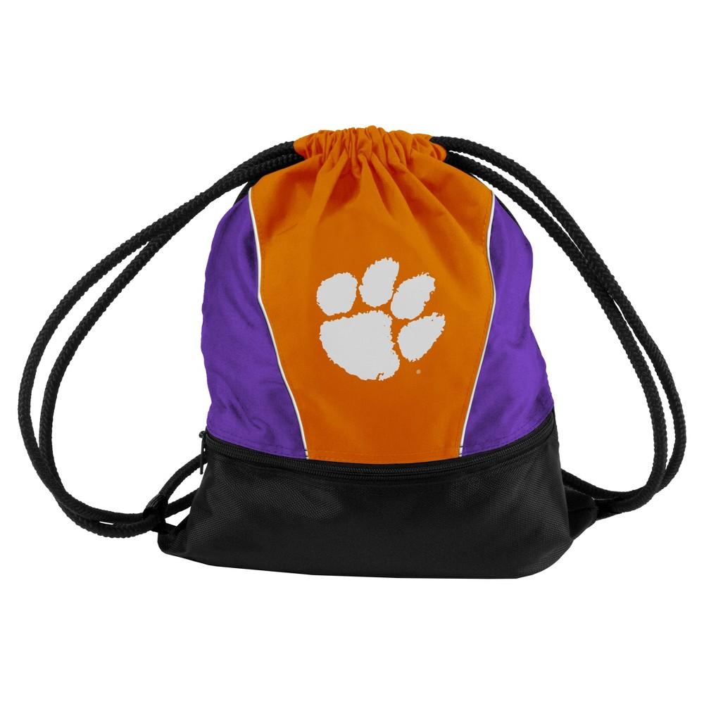 NCAA Clemson Tigers Logo Brands Sprint Drawstring Bag