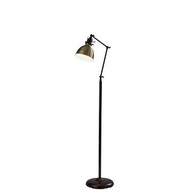 Alden Floor Lamp Bronze - Adesso