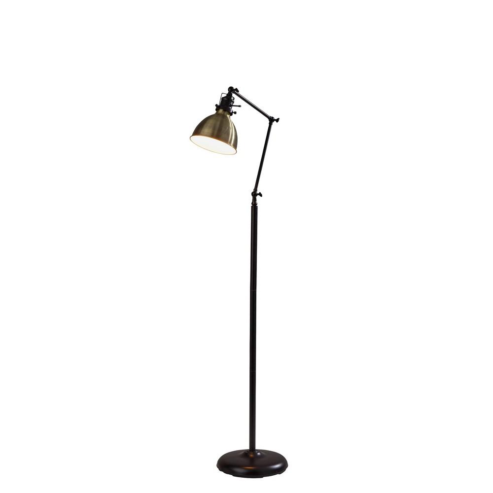 Alden Floor Lamp Bronze Adesso