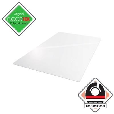 "35""x47"" Rectangular Ulti Mat Clear For Hard Floors - Cleartex"