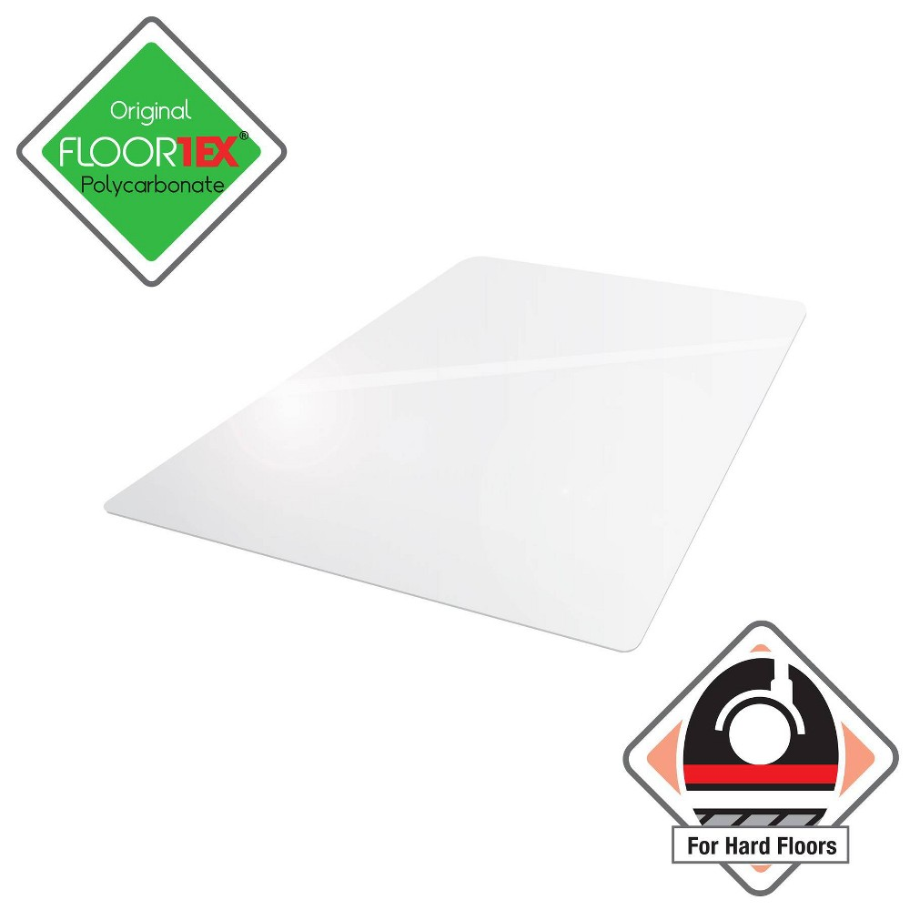 """Image of """"35""""""""x47"""""""" Ultimate Chair Mat Rectangular Clear For Hard Floors - Cleartex"""""""