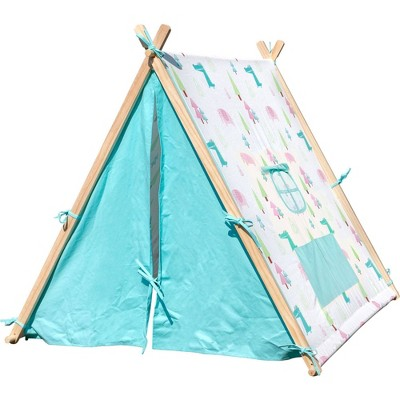 Small Foot Wooden Toys Elephant and Crocodile Play Tent
