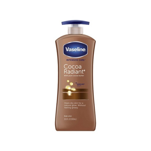 Vaseline Intensive Care Cocoa Radiant Body Lotion - 20.3 fl oz - image 1 of 4