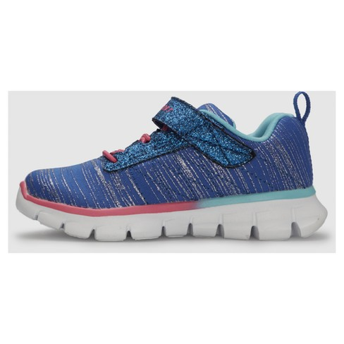 0f2ac7cfa09a02 Toddler Girls' S Sport By Skechers Footle Performance Athletic Shoes - Blue  : Target
