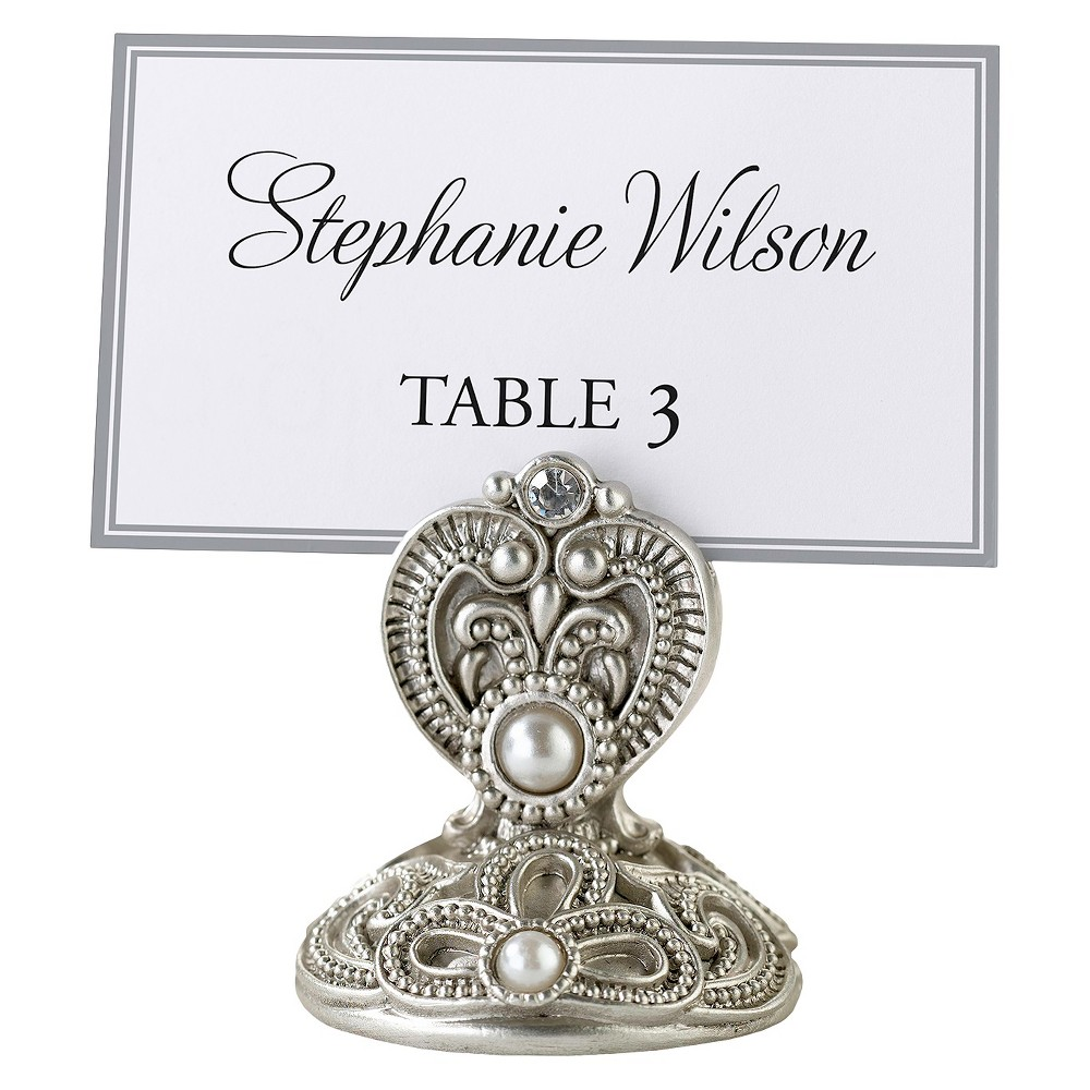 4ct Jeweled Table Place Holder