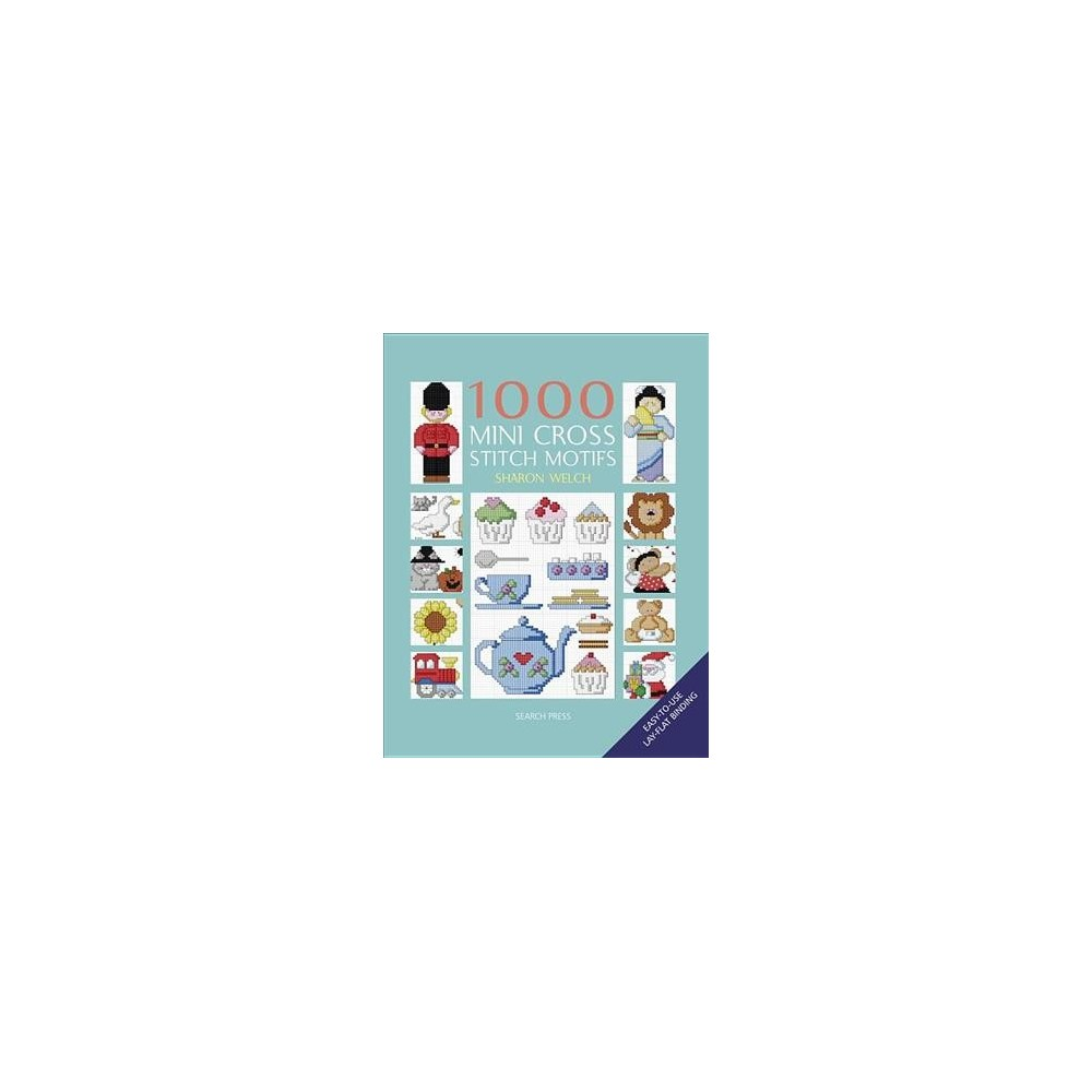 1000 Mini Cross Stitch Motifs - by Sharon Welch (Paperback)