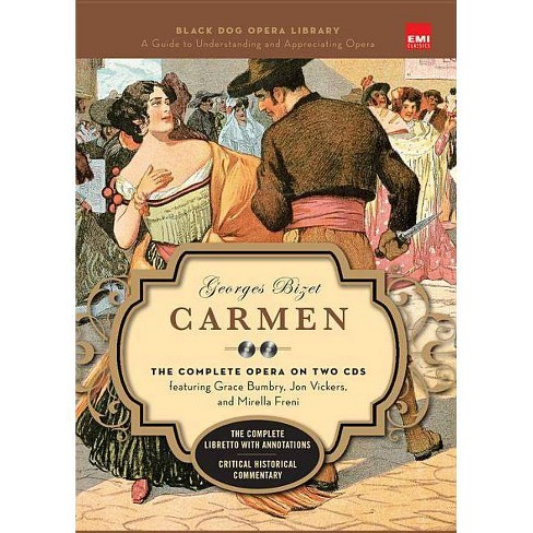 Carmen (Book and CD's) - (Black Dog Opera Library) (Mixed media product) - image 1 of 1