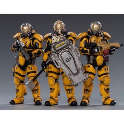 Starhawk 02st Legion Interstellar Set of 3   Joy Toy War Stars Action figures