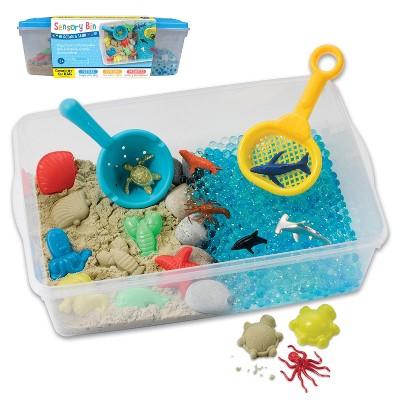 Ocean and Sand Sensory Bin - Creativity for Kids