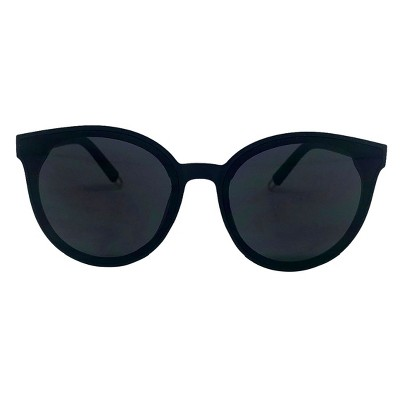 Women's Round Sunglasses - A New Day™ Black