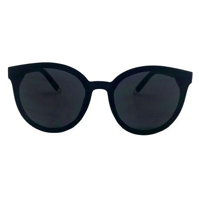 f0fa77075f3b Women s Round Sunglasses - A New Day™ Black
