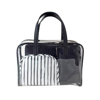 Sonia Kashuk™ Makeup Organizer Bag Set - Black/Stripe