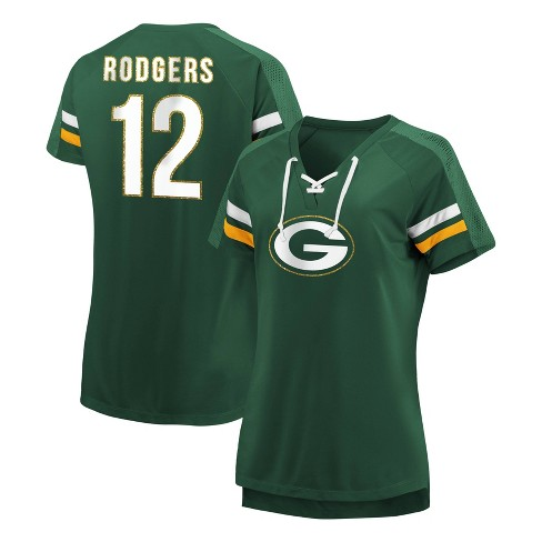 f96a71b2 NFL Green Bay Packers Women's Ultimate Champion Player Fashion Top