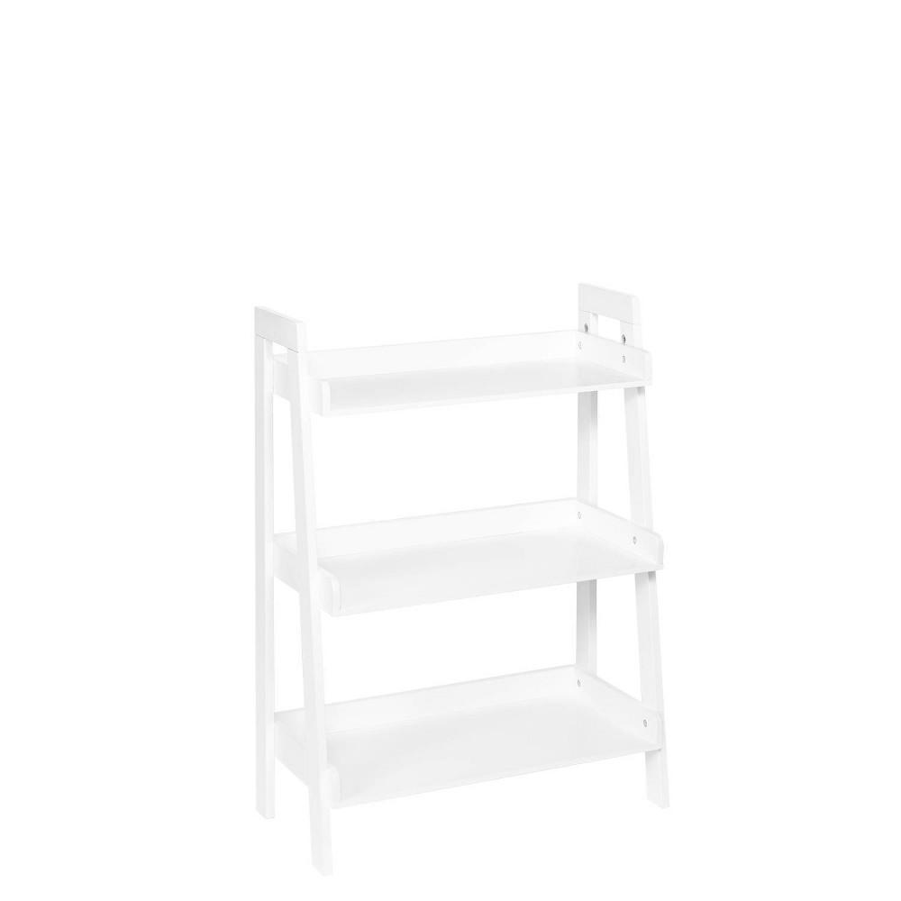 Image of 3 Tier Ladder Shelf White - RiverRidge