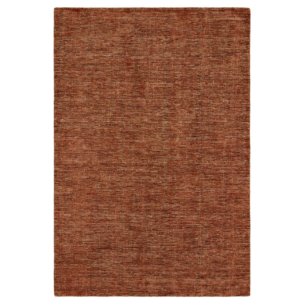 9'X13' Red Solid Loomed Area Rug - Addison Rugs