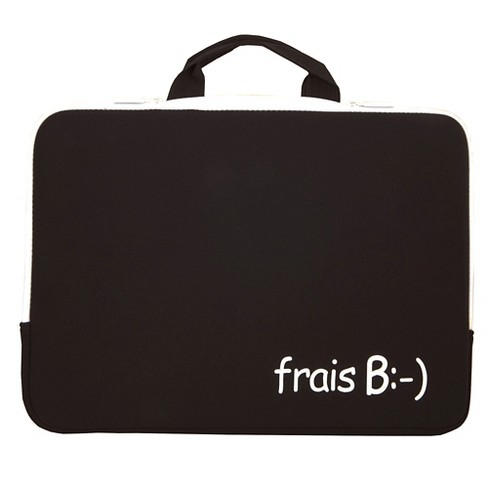 "Urban Factory 13"" Notebook Sleeve - Black/White (ZM5565) - image 1 of 1"