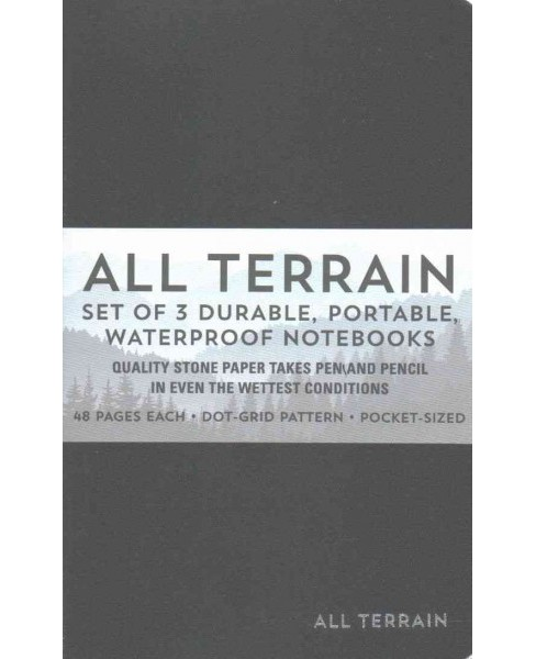 All Terrain : The Waterproof Notebook (Paperback) - image 1 of 1