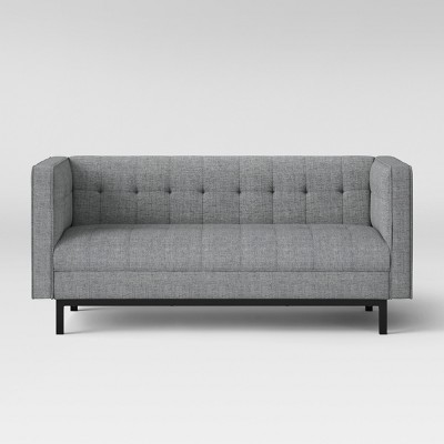 Cologne Tufted Track Arm Sofa Gray - Project 62™