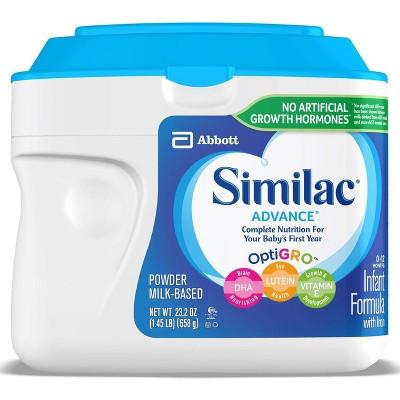 Similac Advance Infant Formula with Iron Powder - 23.2oz