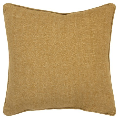 """20""""x20"""" Oversize Solid Square Pillow Cover - Rizzy Home - image 1 of 4"""