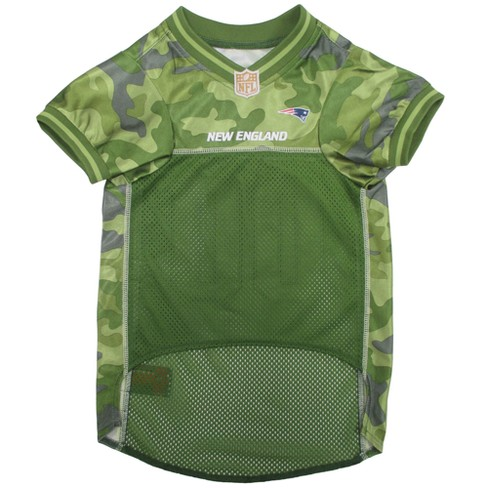 - Camo Jersey Football Pets New First Nfl Pet Patriots England