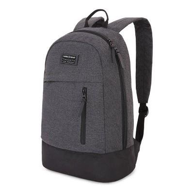SWISSGEAR Getaway 17.5  Daypack Backpack - Heather Gray