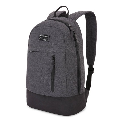 "SWISSGEAR Getaway 17.5"" Daypack Backpack - Heather Gray - image 1 of 4"