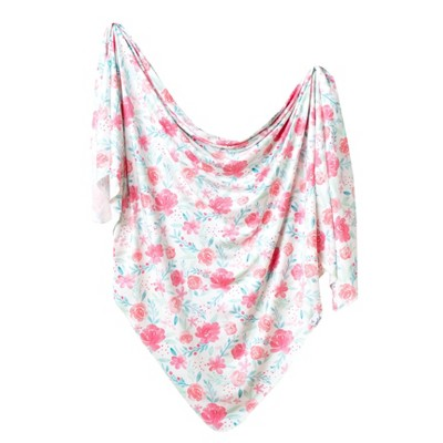 Copper Pearl Knit Swaddle Blanket - June