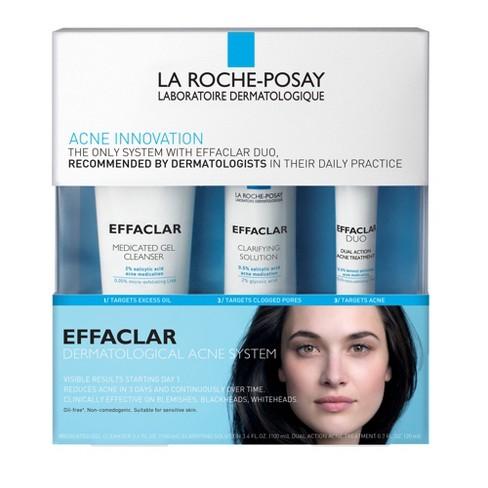 La Roche Posay Effaclar Dermatological 3-Step Acne Treatment System - 7.5oz - image 1 of 4