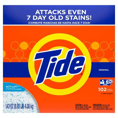 Tide Turbo Original High Efficiency Powder Laundry Detergent