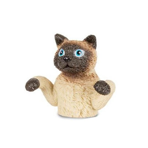 Accoutrements Finger Cats Finger Puppet, One Brown Cat - image 1 of 1