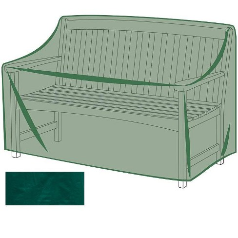 All Weather Outdoor Furniture Cover For Benches Green Plow