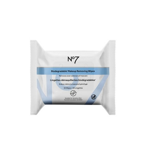 No7 Make Up Removing Cleansing Wipes - 30ct - image 1 of 3