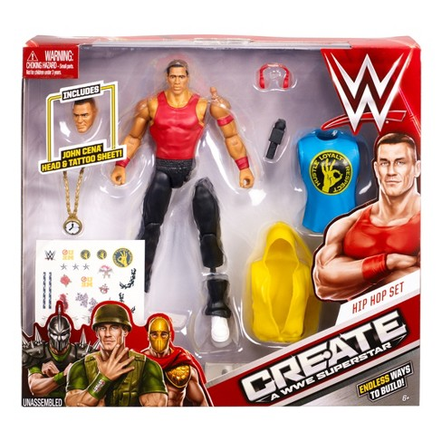 WWE Create A Superstar Jon Cena Hip Hop Figure Set