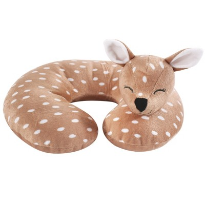 Hudson Baby Infant and Toddler Unisex Neck Pillow, Fawn, One Size