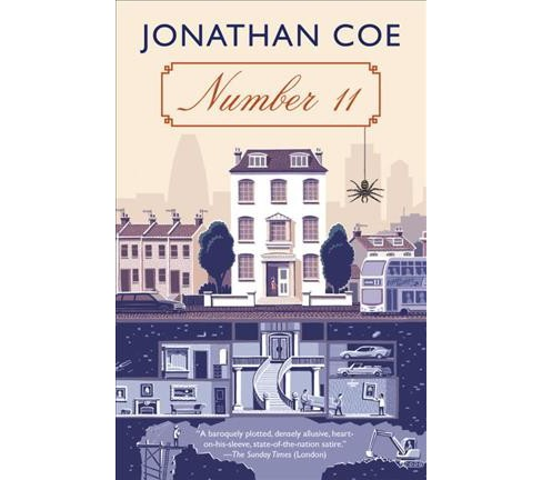 Number 11 -  Reprint by Jonathan Coe (Paperback) - image 1 of 1