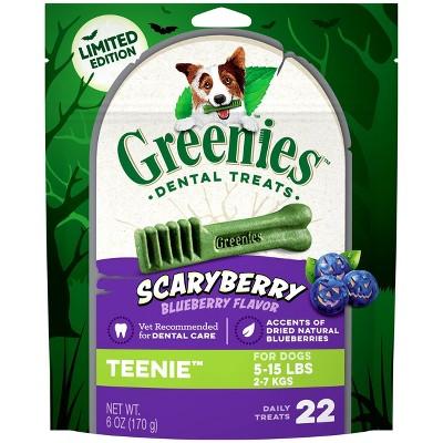 Greenies Scary Berry Teenie Dog Treats - 6oz