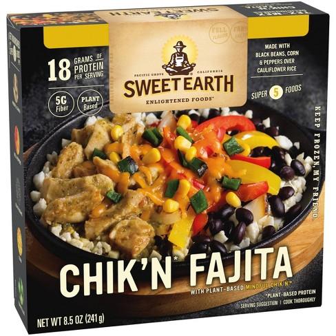 Sweet Earth Frozen Chik'n Fajita Bowl - 8.5oz - image 1 of 3