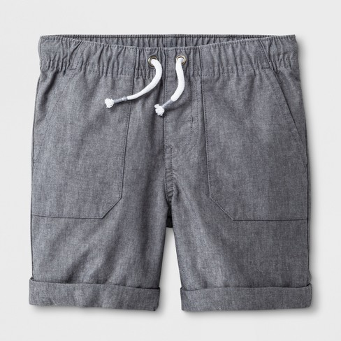 Toddler Boys' Pull-On Shorts - Cat & Jack™ Gray - image 1 of 2