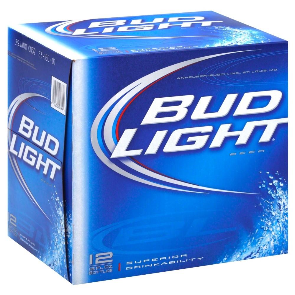 UPC 018200007699 - Bud Light Beer Bottles 12 oz, 12 pk | upcitemdb com