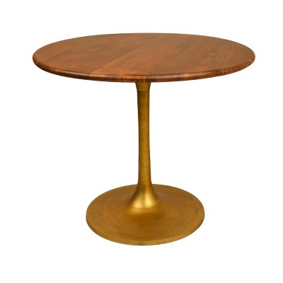 """36"""" Somerset Wood Top Round Dining Table - Carolina Chair & Table"""