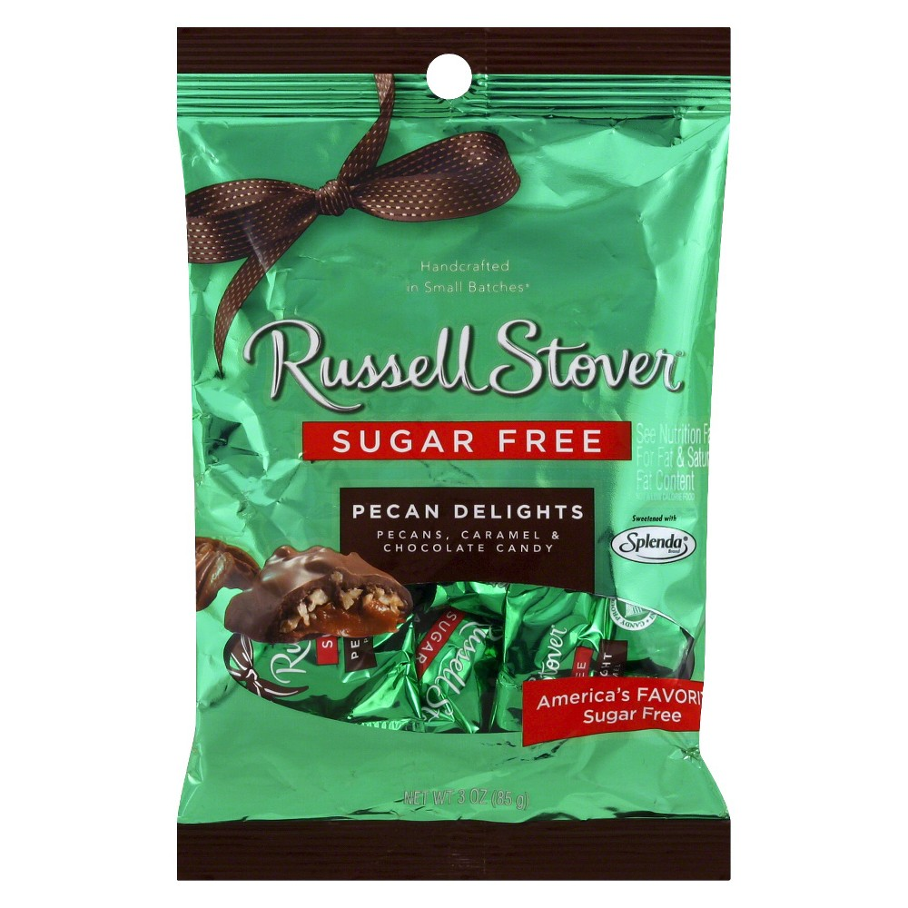Russell Stover Sugar-Free Pecan Delight Bag - 3 oz