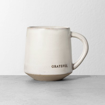 'Grateful' Stoneware Mug - Hearth & Hand™ with Magnolia