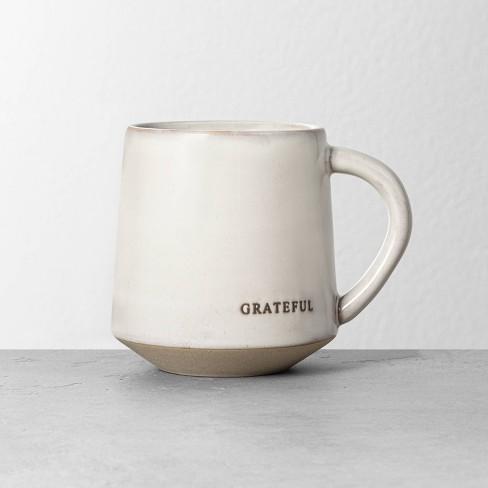 'Grateful' Stoneware Mug - Hearth & Hand™ with Magnolia - image 1 of 2