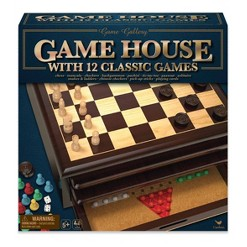 Game Gallery 12 in 1 Game House Board Game, Adult Unisex
